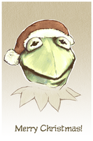 Kermit, a gift by clotus