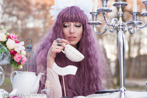 Follow the Rabbit II (Alice in Crazyland) by Pinkabsinthe