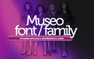 Museo font family by XtremeSources