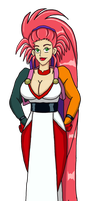 Washu In Ryoko's Clothes by PerryWhite