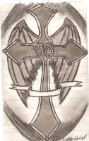 The Cross with wings by super-fat-man