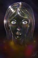 Glass Girl by thedarkgecko