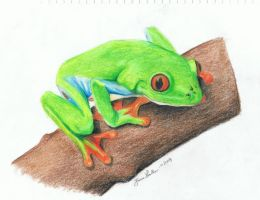 Sir Tree Frog the Second by Narzaria