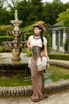 Stock - Steampunk Pirate woman 3 by S-T-A-R-gazer
