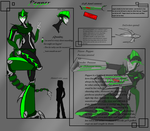 pepper Bio page for 2014. by Scrapper-Girl