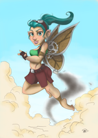 Gnomish Fairy by Pradaninja