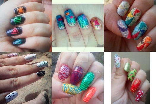 Nail art (part 10) by Rossally