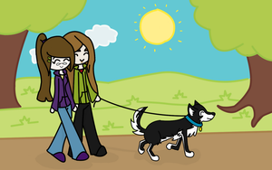 Walk In The Park by Ay-Immoral
