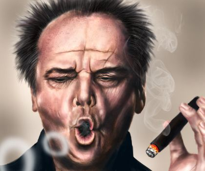 Jack Nicholson by youthful2