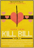Kill Bill: Vol.1 Poster by W0op-W0op