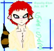 Gaara Cream Color by Squally-Chan