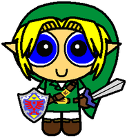 Legend of Zelda - Link Puff by mikethesandbag