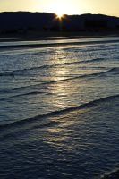 Sunset at the Beach 5 by Gigabeto