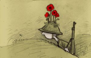 WWI by littlecrow
