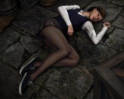 Young Amanda Jones - Captured in the Castle! by Torqual3D