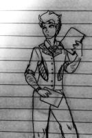 Lol Riddler on Paper by Angels-Inspiration