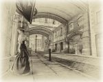 The Streets Of Old London by Roys-Art