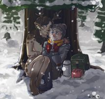 Bundled up by Airafleeza
