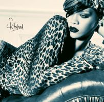 RIHANNA 14 by Ashesteidem-Editions