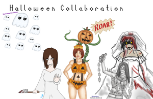 HALLOWEEN COLLAB 2011 by WongZixin
