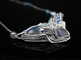 Machine necklace III by IMNIUM