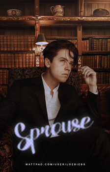 Sprouse | Wattpad Cover by LoeBiebs