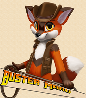 Buster Maru by jamesfoxbr