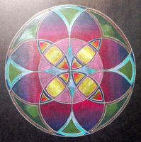 colour pencil drawing 9 by Lou-in-Canada