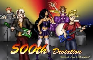 500th Dev: The Band by dragondoodle