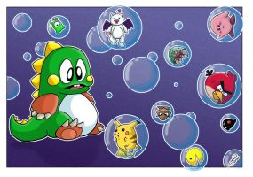 Bubble Bobble FTW! by StingRoll
