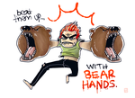 BEAR HANDS by rowleen