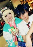 Okumura Rin and Moriyama Shiemi by The-White-Moon