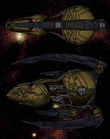 Suundel battlecruiser by agenttomcat