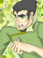 Angry and Intense... with DOTS - Bolin by The-Jazmo