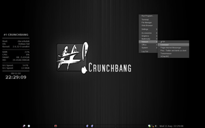 another Crunchbang desktop by vrkalak