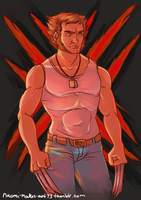 The Wolverine by naomi-makes-art73