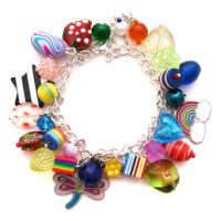 Rainbow Charm Bracelet 8 by fairy-cakes