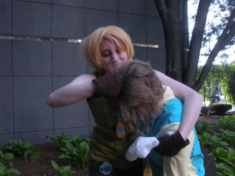 ACEN2012- Time for a NOOGIE, Little Bro! by Pau--chan