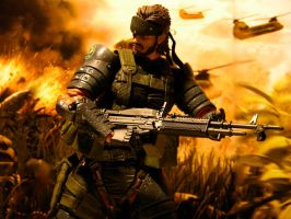 Solid Snake - Warfare by Riebeck