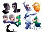 RotG Doodles by cherlye