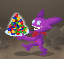 Sableye by superpsyduck