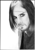 Jared Leto 12 by Ilojleen by PortraitPencilArt