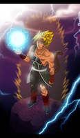 Super Saiyan Bardock by BreakingSasuke