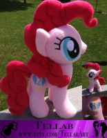 Pinkie Pie Plushie by TellabArt