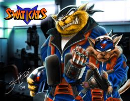 SWAT KATS V1 by cheetor182