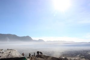 Tenggeresse at Bromo Mountain by fadhilitupakde