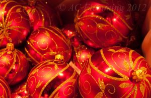 Christmas baubles by ann-chris