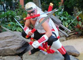 Killer Bee 7 at Katsucon 2014 by kakashi-shishio