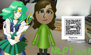 Sailor Neptune QR Code by SonicPal