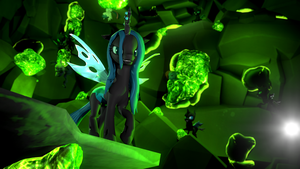 The Green And Black by d0ntst0pme